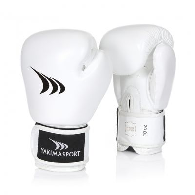 Boxing Gloves CRAB White