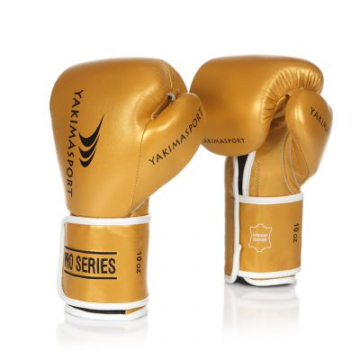 Boxing Gloves TIGER Gold/Black V